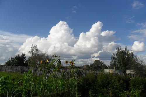Облака, как горы или паруса