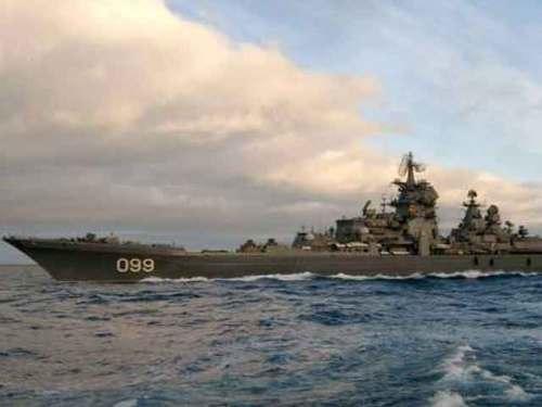 атомный ракетный крейсер Петр Великий