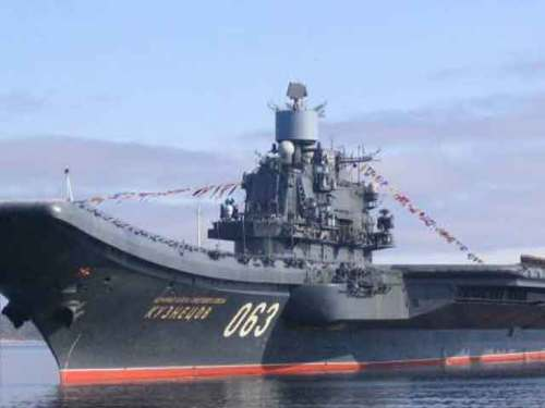 авианосец Адмирал Кузнецов (Россия)