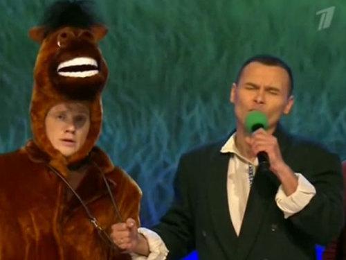 Песня про коня - СОЮЗ - КВН 1/2 финала - 26.10.2014