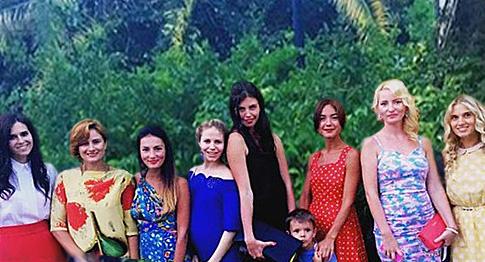 Жены участников КВН Встреча выпускников 2015