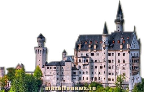 Замок Нойшванштайн ajnj dbltj