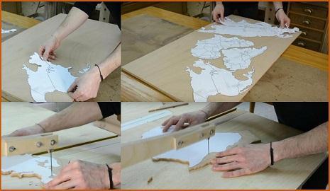 Как сделать карту мира из пробки (фото 2)