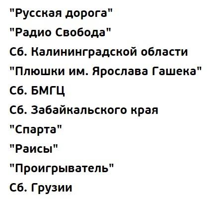 Список команд 1/2 финала КВН 2017