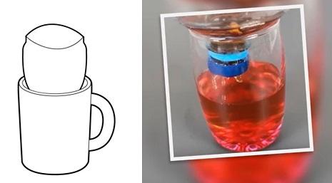 Ситечко для чая из пластиковой бутылки