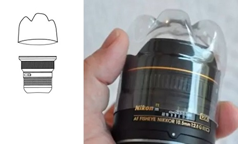 Крышка для объектива из пластиковой бутылки